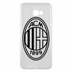 Чохол для Samsung J4 Plus 2018 AC Milan logo