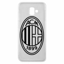 Чохол для Samsung J6 Plus 2018 AC Milan logo