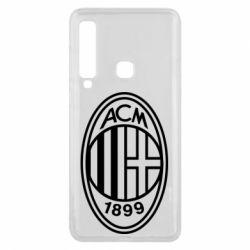 Чохол для Samsung A9 2018 AC Milan logo