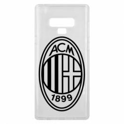 Чохол для Samsung Note 9 AC Milan logo