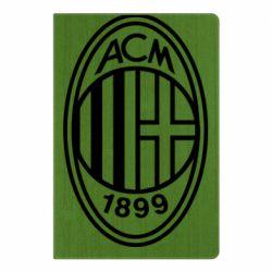 Блокнот А5 AC Milan logo
