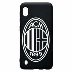 Чохол для Samsung A10 AC Milan logo