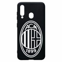 Чохол для Samsung A60 AC Milan logo