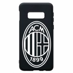 Чохол для Samsung S10e AC Milan logo