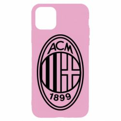 Чохол для iPhone 11 AC Milan logo