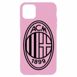 Чохол для iPhone 11 Pro AC Milan logo