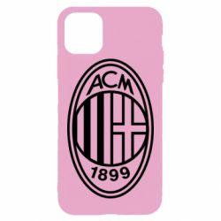 Чохол для iPhone 11 Pro Max AC Milan logo
