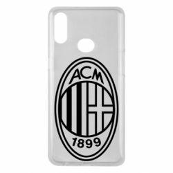 Чохол для Samsung A10s AC Milan logo