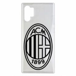 Чохол для Samsung Note 10 Plus AC Milan logo