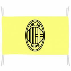 Прапор AC Milan logo
