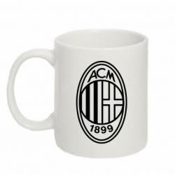Кружка 320ml AC Milan logo