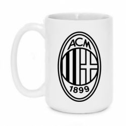 Кружка 420ml AC Milan logo