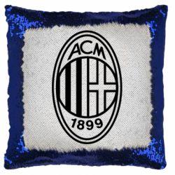 Подушка-хамелеон AC Milan logo
