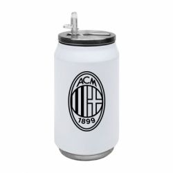 Термобанка 350ml AC Milan logo