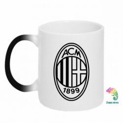 Кружка-хамелеон AC Milan logo