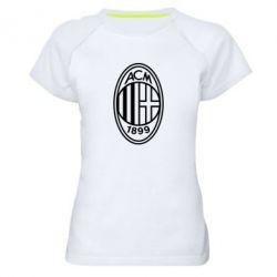 Жіноча спортивна футболка AC Milan logo