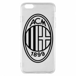 Чохол для iPhone 6 Plus/6S Plus AC Milan logo