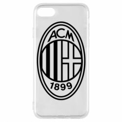 Чохол для iPhone 8 AC Milan logo