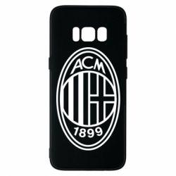 Чохол для Samsung S8 AC Milan logo