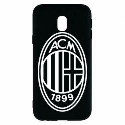 Чохол для Samsung J3 2017 AC Milan logo