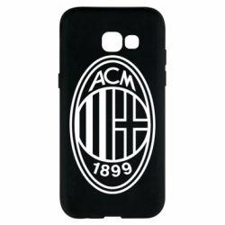 Чохол для Samsung A5 2017 AC Milan logo