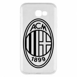 Чохол для Samsung A7 2017 AC Milan logo