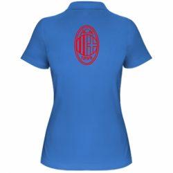 Жіноча футболка поло AC Milan logo