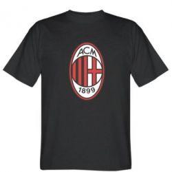 Мужская футболка AC Milan - FatLine