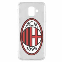 Чохол для Samsung A6 2018 AC Milan