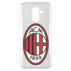Чохол для Samsung A6+ 2018 AC Milan