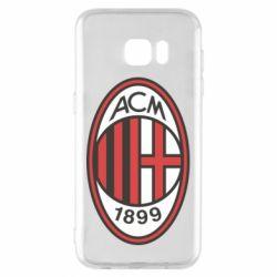 Чохол для Samsung S7 EDGE AC Milan