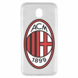 Чохол для Samsung J7 2017 AC Milan