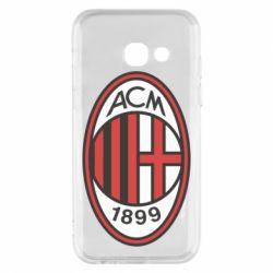 Чохол для Samsung A3 2017 AC Milan