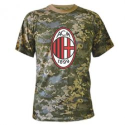 Камуфляжна футболка AC Milan