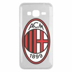 Чохол для Samsung J3 2016 AC Milan