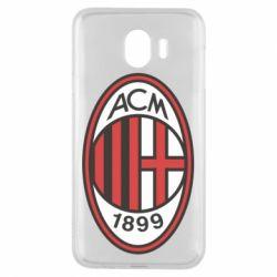 Чохол для Samsung J4 AC Milan