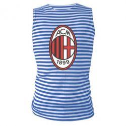 Майка-тельняшка AC Milan - FatLine