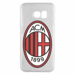 Чохол для Samsung S6 EDGE AC Milan