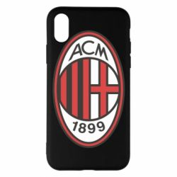 Чехол для iPhone X/Xs AC Milan