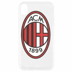 Чехол для iPhone XR AC Milan