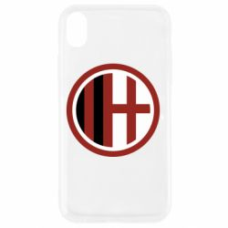 Чохол для iPhone XR AC Milan