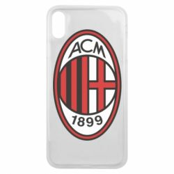 Чехол для iPhone Xs Max AC Milan