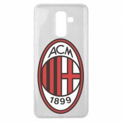 Чохол для Samsung J8 2018 AC Milan