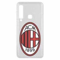 Чохол для Samsung A9 2018 AC Milan