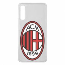 Чохол для Samsung A7 2018 AC Milan