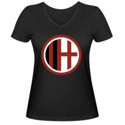 Жіноча футболка з V-подібним вирізом AC Milan