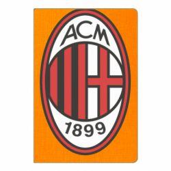 Блокнот А5 AC Milan