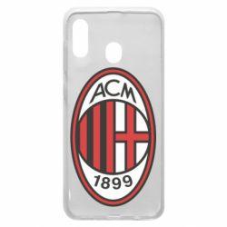 Чохол для Samsung A20 AC Milan