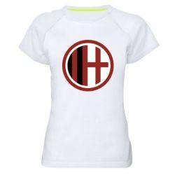 Жіноча спортивна футболка AC Milan