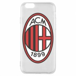 Чехол для iPhone 6/6S AC Milan